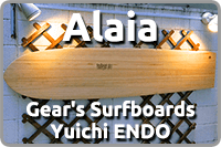 Alaia Gear's Surfboards Yuichi ENDO